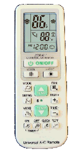 Solrus Universal AC Remote Control For Mini-Split Ductless Air Conditioners at Sears.com